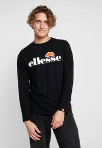 Ellesse - GRAZIE - T-shirt à manches longues - black - 0