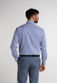 Eterna - COMFORT FIT - Shirt - blau/weiß - 1