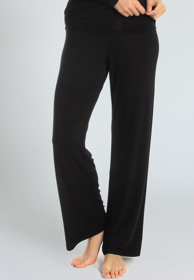 CASUAL COMFORT - Pyjama bottoms - black