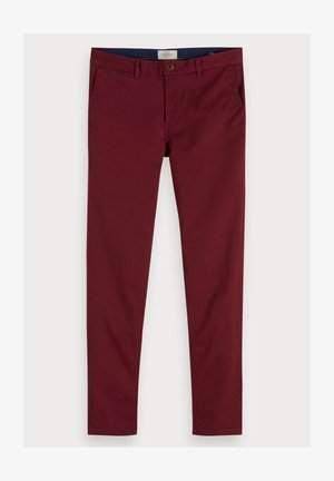 MOTT CLASSIC SLIM FIT - Chino - bordeaux