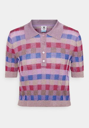 Polo shirt - pink/multi-coloured