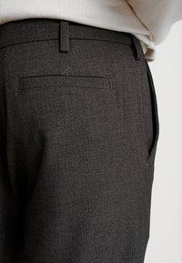 We are Cph - JANZIK  - Trousers - dark grey / melange - 3