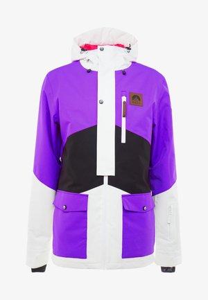 FRESH POW JACKET - Ski jacket - purple/black/white