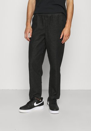 LOCAL PANT UNISEX - Relaxed fit jeans - black wash denim