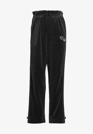 TRACK PANT - Teplákové kalhoty - black