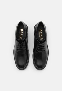 Office - MODEST LACE UP MID SHOE - Lace-up heels - black - 5