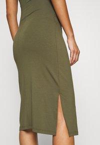 Anna Field - Shift dress - olive - 5