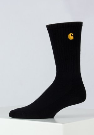 CHASE - Socks - black/white
