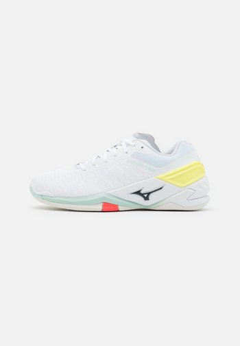 WAVE NEO - Handball shoes - white/sky captain/clearwater