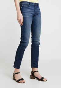 edc by Esprit - Slim fit jeans - blue dark wash - 0