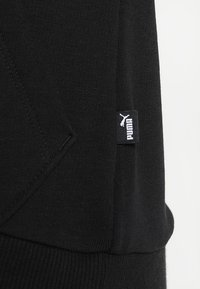 Puma - ESS LOGO HOODY  - Sweat à capuche - cotton black - 6
