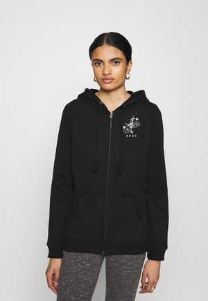 DAY BREAKS ZIPPED - Zip-up hoodie - anthracite