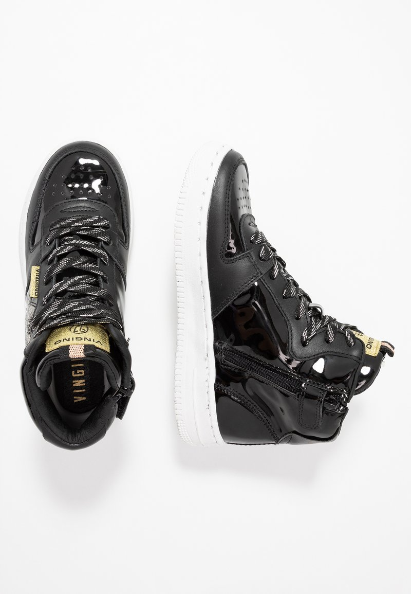 Vingino - LOTTE MID - High-top trainers - black vintage