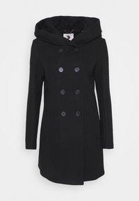LANGARM - Klasický kabát - black