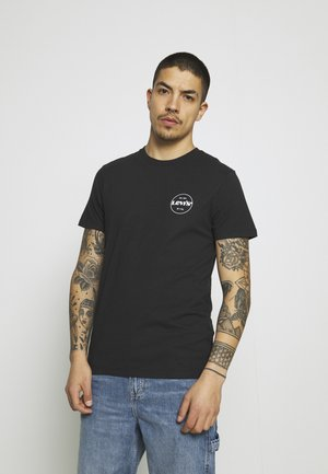 GRAPHIC TEE - Print T-shirt - black