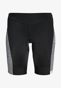 Gore Wear - DAMEN LINE KURZ - Tights - black/white - 3