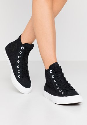 CHUCK TAYLOR ALL STAR - Høye joggesko - black/white