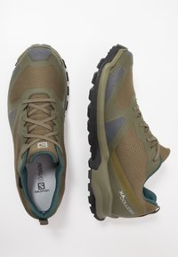 Salomon - XA COLLIDER GTX - Hiking shoes - olive night/phantom/burnt olive - 1