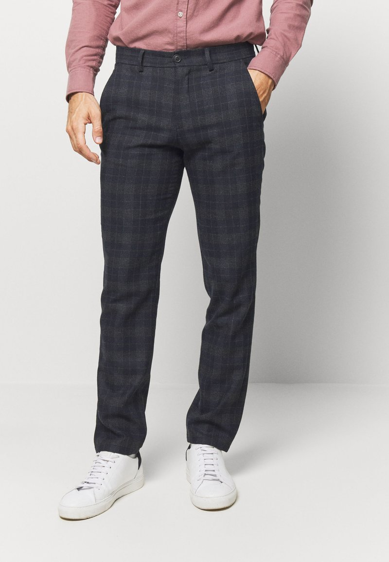 Selected Homme - Kalhoty - dark blue