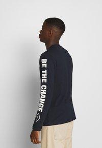 Replay - Long sleeved top - dark blue - 2