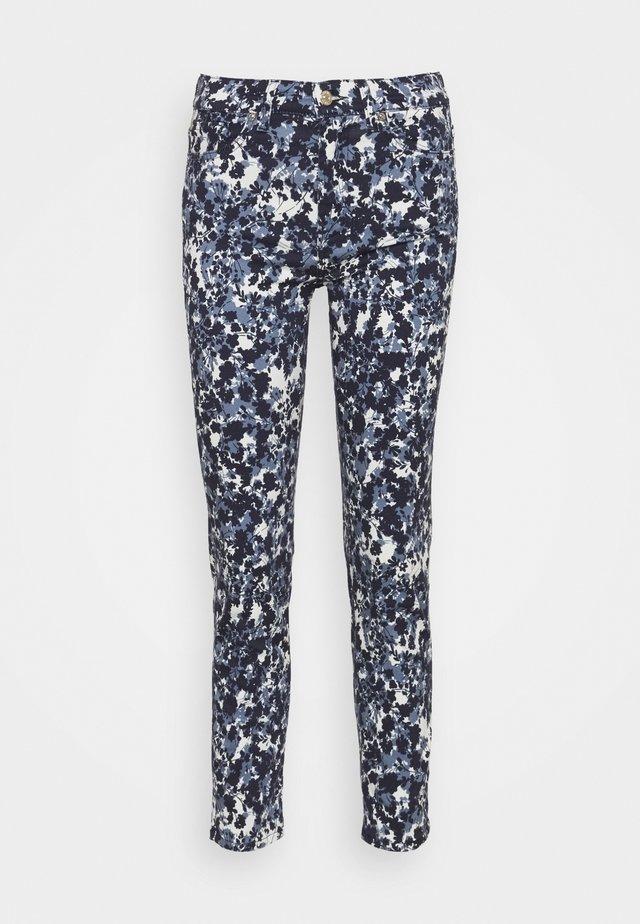 ROXANNE ANKLE FLOWER FIELD - Jeans Skinny Fit - blue