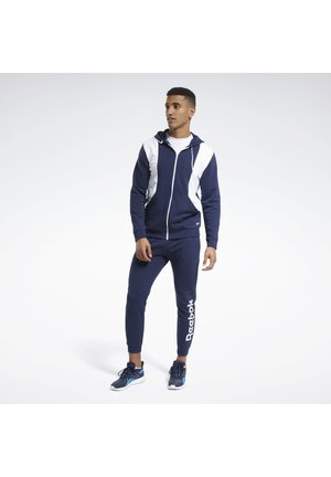 TRAINING ESSENTIALS LINEAR LOGO TRACKSUIT - Survêtement - blue