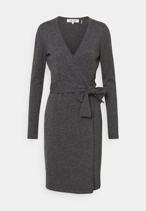 NEW LINDA  - Jumper dress - charcoal melange