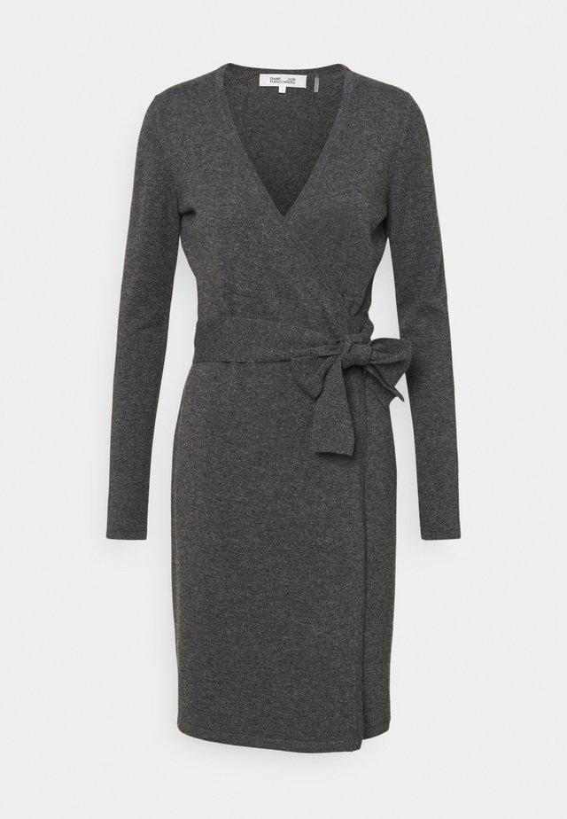 NEW LINDA  - Robe pull - charcoal melange