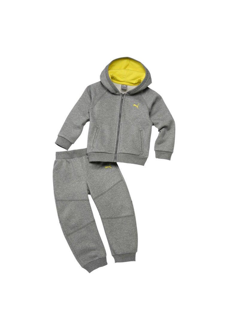 Puma - JOGGER SET  - Trainingsanzug - medium gray heather