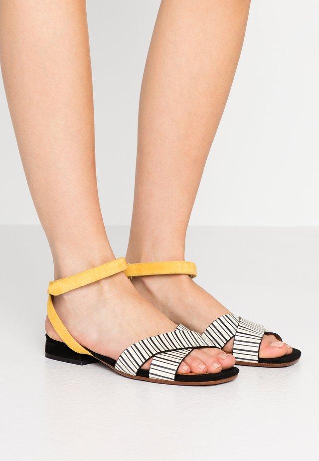 TAMINA - Sandals - rayo/sun