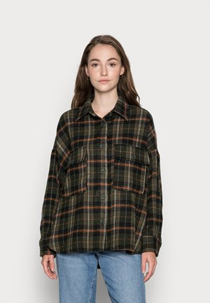 RORY - Button-down blouse - green