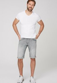Camp David - Denim shorts - jogg grey - 1