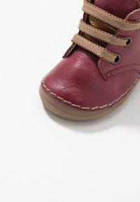 Froddo - Lær-at-gå-sko - bordeaux - 2