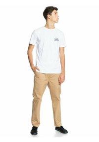 Quiksilver - Print T-shirt - white - 1