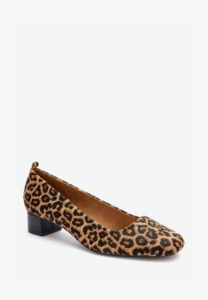 Classic heels - black/brown