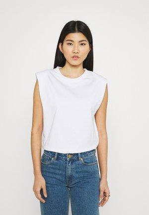 JOUE - Jednoduché triko - white
