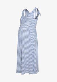 Gebe - DRESS AFRICA - Sukienka letnia - blue/off white - 0
