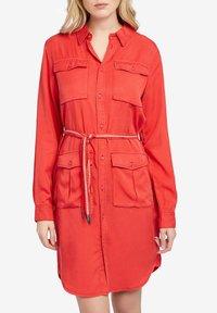 khujo - LEANNA - Shirt dress - red - 0