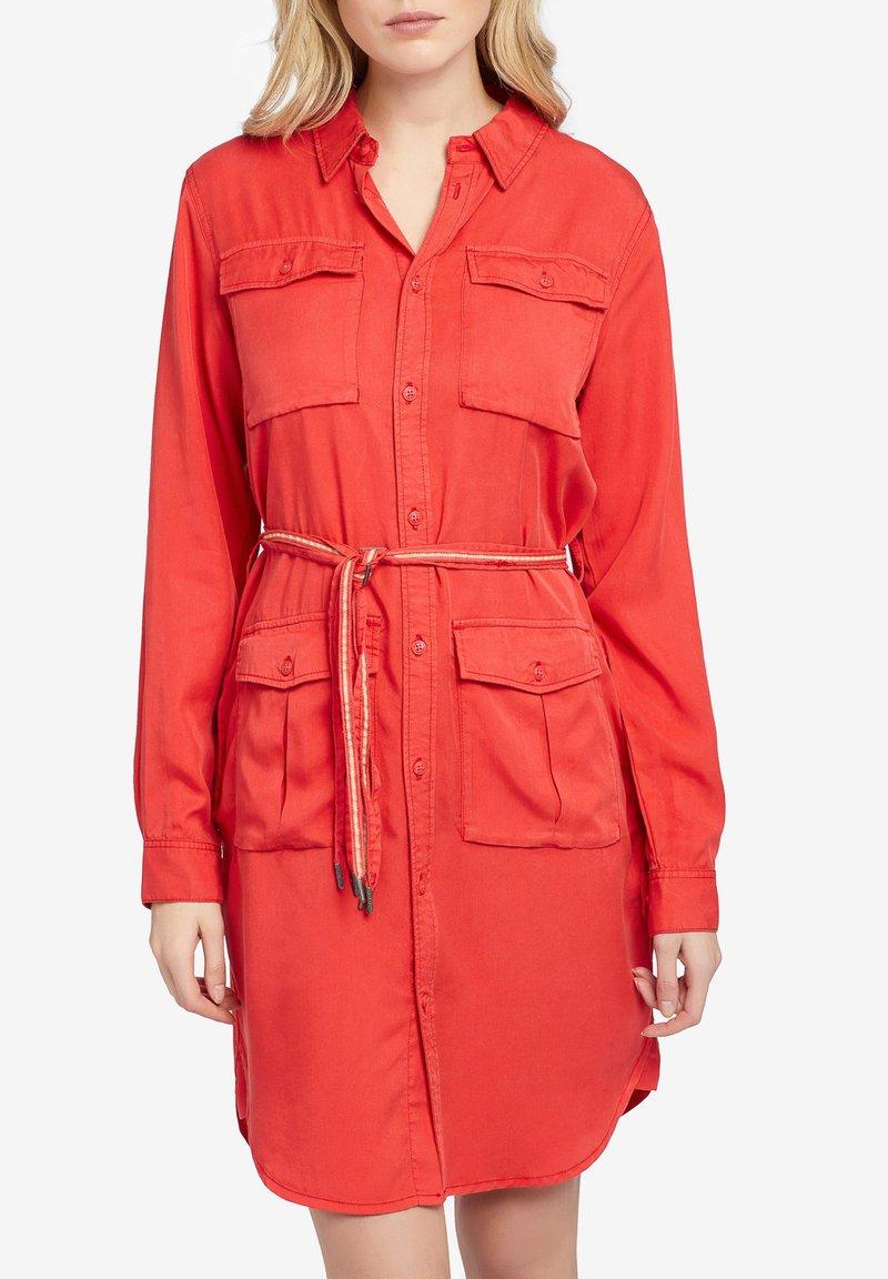 khujo - LEANNA - Shirt dress - red