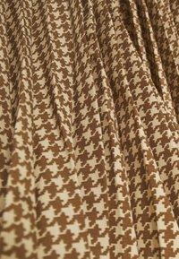 Polo Ralph Lauren - RESE SKIRT - Áčková sukně - brown/tan houndst - 2