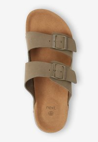 Next - BROWN TWO BUCKLE SANDAL - Pantoffels - taupe - 4
