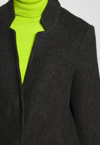 Vero Moda - VMBRUSHEDKATRINE  - Krótki płaszcz - dark grey melange - 5