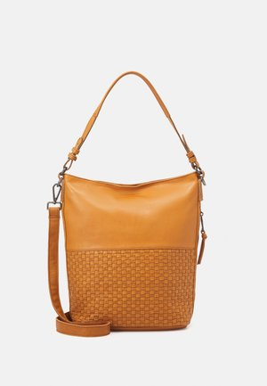 DAWN - Handbag - dark honey