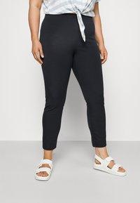 Lauren Ralph Lauren Woman - KESLINA PANT - Trousers - navy - 0