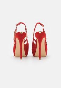 Guess - GINNIA - Platform heels - red - 3