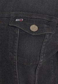 Tommy Jeans - VIVIANNE SLIM - Jeansjakke - iris black - 6
