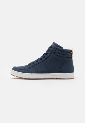 High-top trainers - dark blue