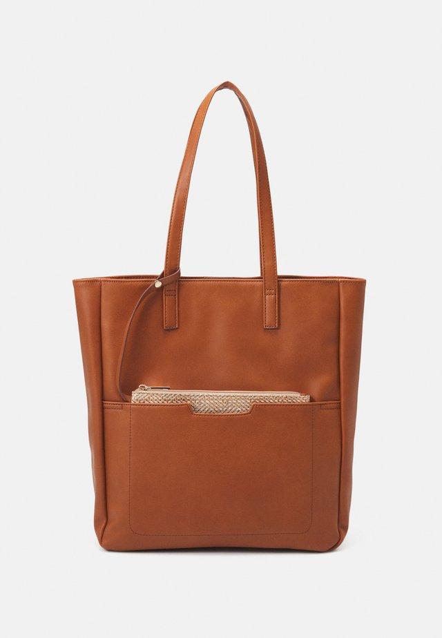 SET - Tote bag - cognac