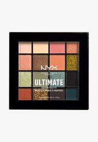 Nyx Professional Makeup - ULTIMATE SHADOW PALETTE - Palette fard à paupière - utopia 16 - 0
