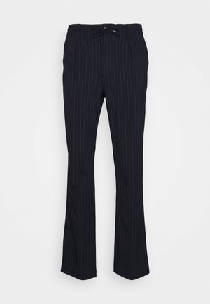 TAILORED SLIM PREPSTER - Broek - navy